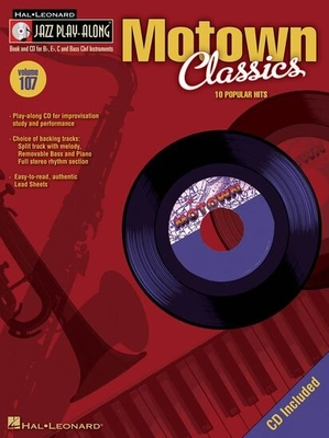 Jazz play along / Jazz Play-Along Volume 107: Motown Classics /  / Hal Leonard