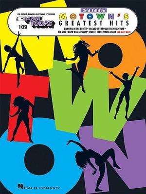 E-Z Play Today 109: Motown's Greatest Hits /  / Hal Leonard