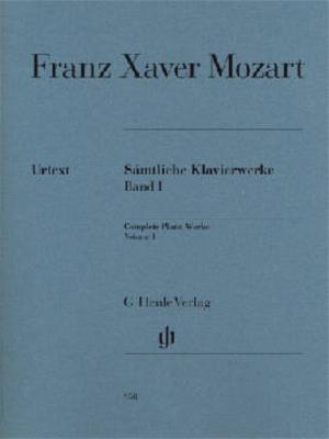 Oeuvres complètes pour piano volume 1 / Mozart Franz Xaver / Henle