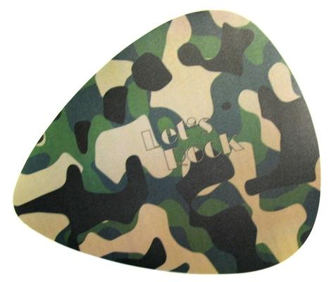 Vorson Tapis de souris en forme de plectre, army