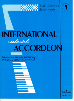 International virtuosité accordéon Vol 1 / Divers compositeurs / Helbling