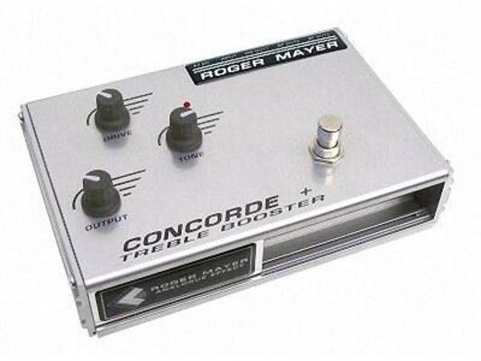 Roger Mayer Concorde + Treble Booster