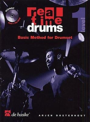 Real time drums basic method vol. 1 / Oosterhout Arjen / De Haske