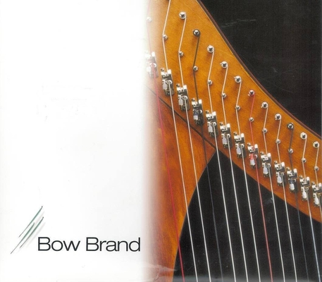 Bow Brand N 23 RE 4ème octave en boyau pour harpe à pédale
