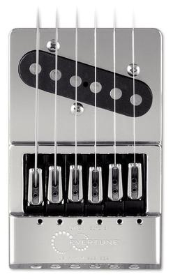 Evertune Bridge T-style pour guitare Telecaster