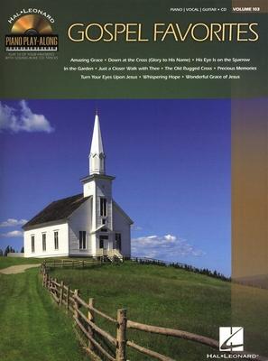 Piano Play-along / Piano Play-Along Volume 103: Gospel Favourites /  / Hal Leonard