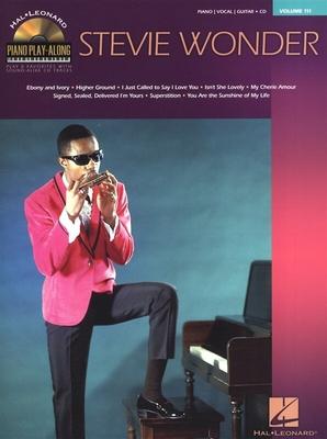 Piano Play-along / Piano Play-Along Volume 111: Stevie Wonder / Wonder, Stevie (Artist) / Hal Leonard