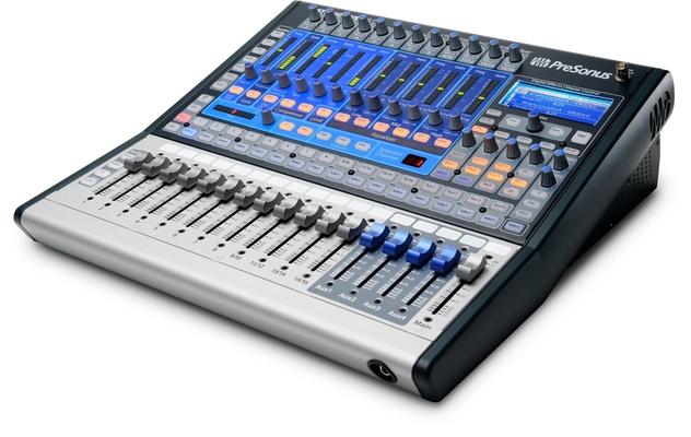 Presonus Studiolive 16.0.2 Digital-Mixer / Interface, 16Ch., 4 Aux, Dynamics, 2xFX, 2x GEQ, USB
