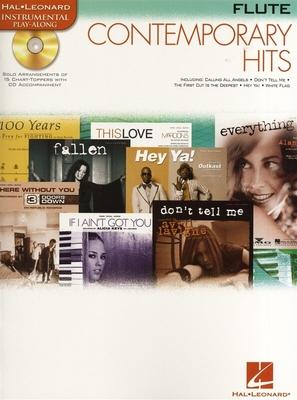 Instrumental Play-Along / Instrumental Play-Along: Contemporary Hits (Flute) /  / Hal Leonard