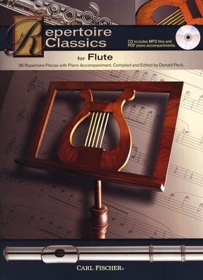 Repertoire Classics, Flute / Peck, Donald (Editor) / Carl Fischer