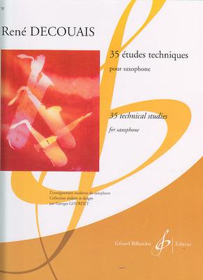 35 études techniques / Decouais René / Billaudot