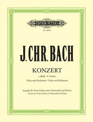 Concerto in C minor  / Johann Christian Bach / Peters