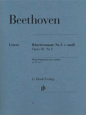 Ludwig Van Beethoven: Piano Sonata In C Minor Op. 10 No. 1 / Beethoven, Ludwig Van (Composer); Wallner, Bertha Antonia (Editor) / Henle Verlag
