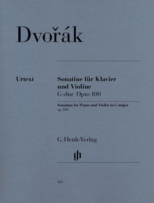 Sonatine en Sol Majeur op. 100 pour violon et pianoSonatina For Piano And Violin In G Op.100 Violine und Klavier HN413 / Dvorak Antonin / Henle