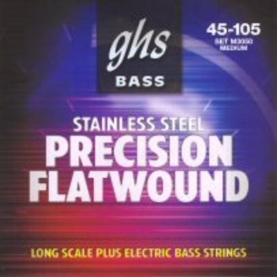 GHS M3050 Precision Flatwound 045-105