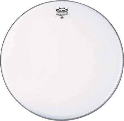 Remo BE-0113-00 Emperor Coated Blanche 13», Double plis