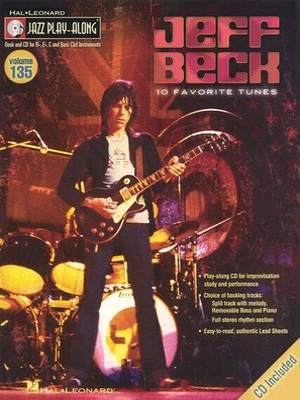 Jazz play along / Jazz Play-Along Volume 135: Jeff Beck / Beck, Jeff (Artist) / Hal Leonard