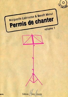 Permis de chanter Vol 1 /  / Henry Lemoine