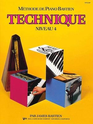Méthode de Piano Bastien Technique Niveau 4 / Bastien James / Kjos Music Co