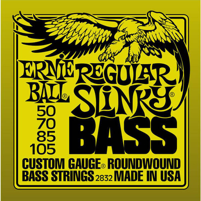 Ernie Ball EB2832 Regular Slinky Bass Nickel Wound .050-105