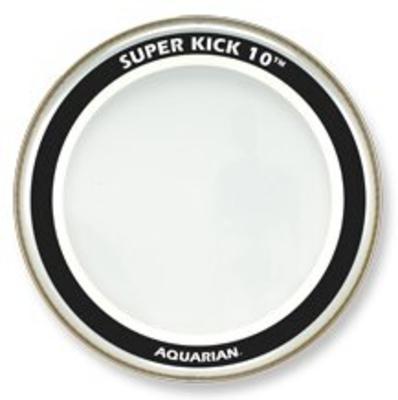 Aquarian SK1022 Super Kick 10 22» clear double ply bass drum