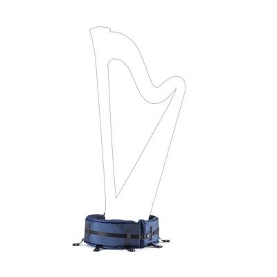 Salvi Housse de transport pour socle Harpe à pédale semi-grand type Daphne 47S/SE