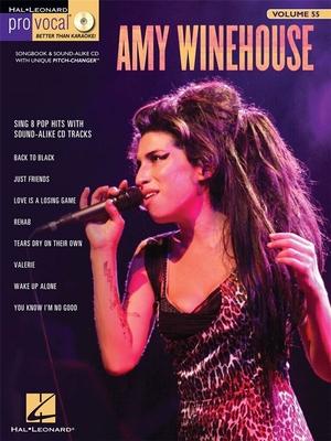 Pro Vocal / Pro Vocal Women's Edition Volume 55: Amy Winehouse / Winehouse, Amy (Artist) / Hal Leonard