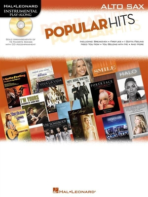Instrumental Play-Along / Instrumental Play-Along: Popular Hits, Alto Saxophone /  / Hal Leonard