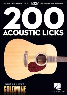 Guitar Licks Goldmine / 200 Acoustic Licks Guitar Licks Goldmine /  / Hal Leonard