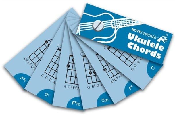 Wise Publications Notecrackers: Ukulele Chords