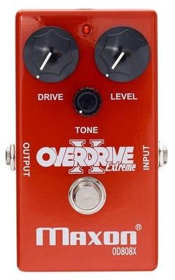 Maxon OD-808X Overdrive X plus de saturation