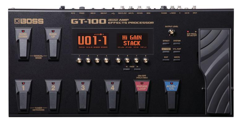 Boss GT-100 Multi effet