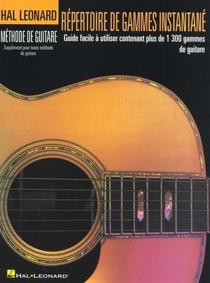 Répertoire De Gammes Instantané /  / Hal Leonard
