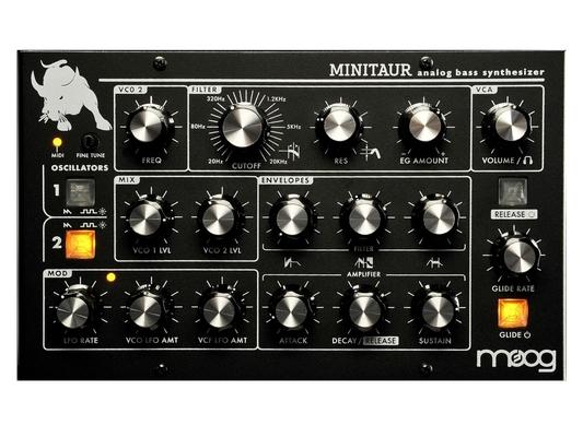 Moog Minitaur Analog Bass Synthesizer Black