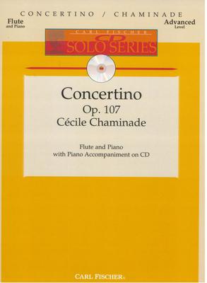 Concertino Ré Majeur D-Dur op. 107 / Chaminade Cécile / Fischer New York