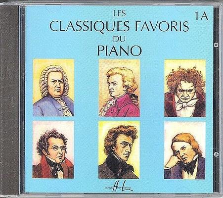 Les classiques favoris du piano vol. 1A CD /  / Henry Lemoine