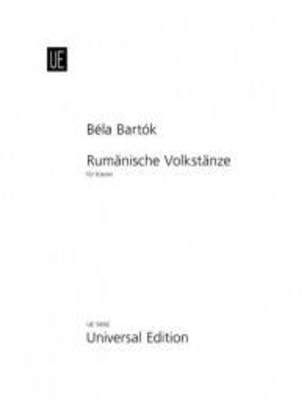 Danses populaires roumaines / Bartok Bela / Universal Edition