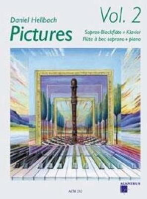 Pictures Vol. 2 Soprano Recorder and Piano   Soprano Recorder and Piano /  / Acanthus