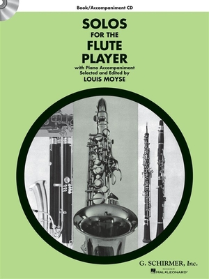 Solos For The Flute Player, Book/CD / Mose, Louis (Editor) / G. Schirmer