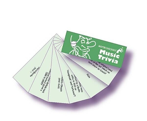 Wise Publications Notecrackers: Music Trivia