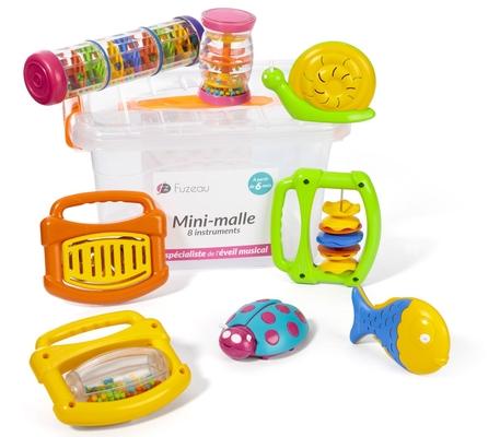 Fuzeau Mini-malle 8 instruments
