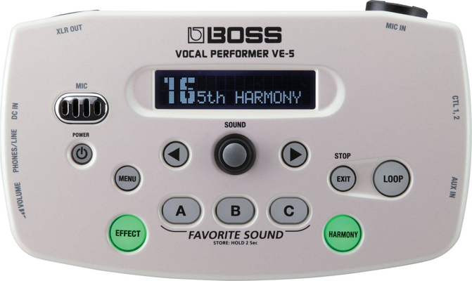 Boss VE-5-WH VE-5 White
