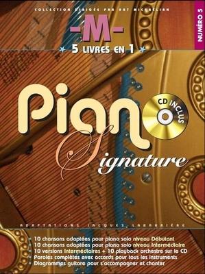 Piano signature, 5 livres en 1 no 5 /  / Paul Beuscher