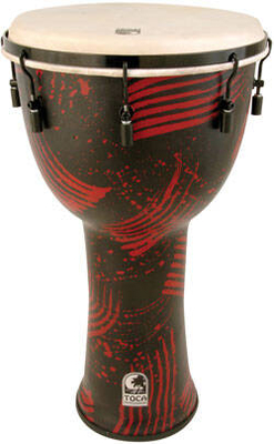 Toca SFDMX-10RP 10» Djembe TunableBali Red