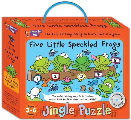 Music for Kids Music For Kids: Jingle Puzzle, Five Little Speckled Frogs