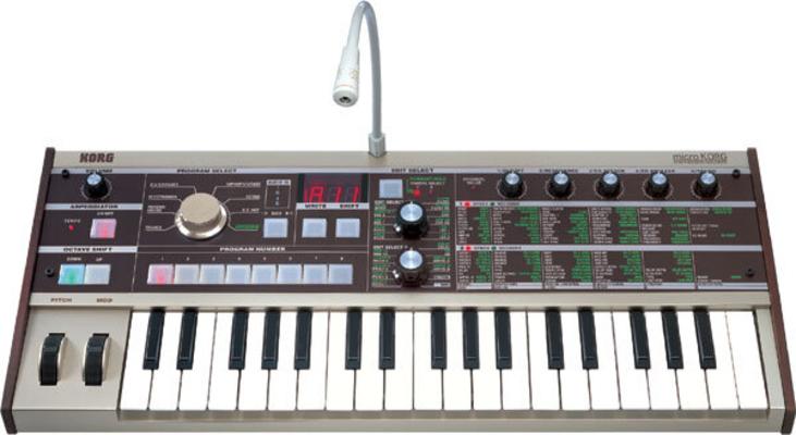 Korg Microkorg Synthesizer Vocoder 4-Voices