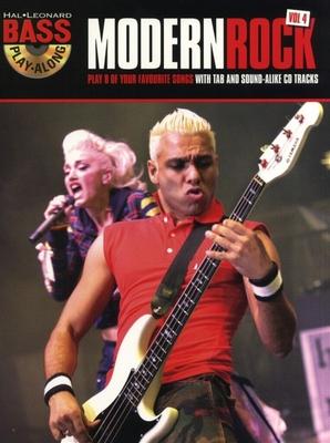 Bass Play-Along Volume 4: Modern Rock /  / Hal Leonard