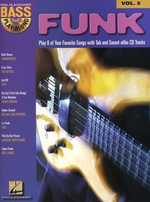Bass Play-Along Volume 5: Funk /  / Hal Leonard