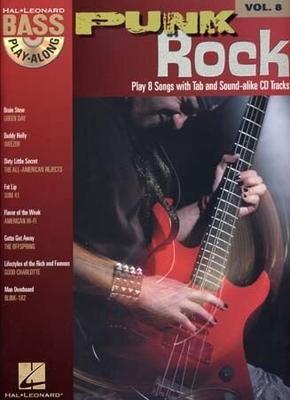 Bass Play-Along Volume 8: Punk Rock /  / Hal Leonard