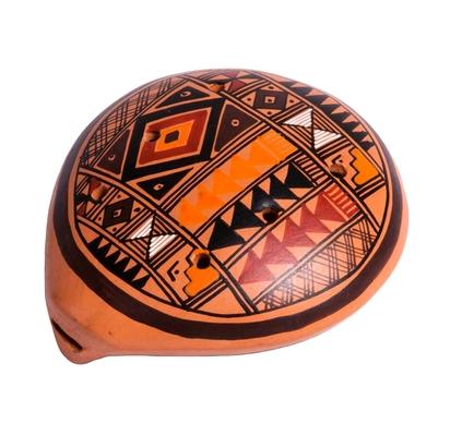 Afroton Ocarina inka design large